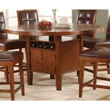 counter height dining table with storage greyson living acacia 42 inch counter height drop leaf storage table