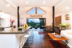 Simple House Designs by Contemporary Australian House Interior Design In White Probably