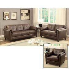 furniture of america dessie traditional 3 piece tufted sofa set