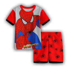 2018 summer children sleepwear popular pajamas boys