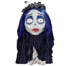 Corpse Bride Halloween Costumes Emily Mask 7in 38in Corpse Bride Party Halloween
