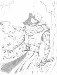 kylo ren sketch by rv1994 on deviantart