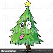 christmas tree clipart 1132200 illustration by graphics rf