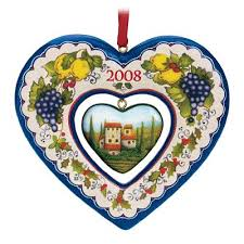 19 best danbury mint annual italian ornaments images on