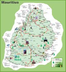 Map Of United States And Canada by Mauritius Hotel Map