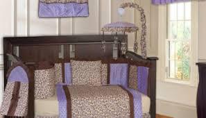 Cheetah Print Crib Bedding Purple Cheetah Print Jungle Animal Safari Theme Ba Bedding Crib