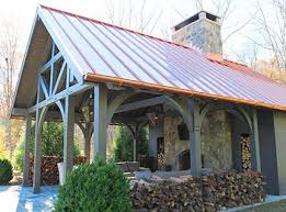 Timber Frame Pergola by Sometimes All It Takes Is Glancing At A Few Timber Frame Pavilion