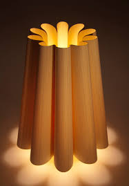 weplight real wood table lamp on behance