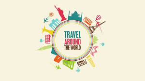 travel world images Travel around the world motion graphics test jpg