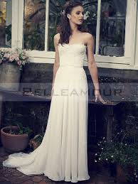 robe de mariã e bustier dentelle de mariée bustier dentelle longue mousseline a ligne blanche taîne