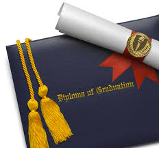 diploma covers college and