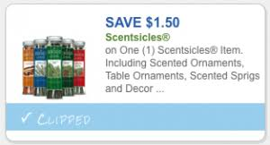 save 1 50 scentsicles save on scented ornaments