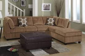 Microfiber Sectional Couch With Chaise Microfiber Sectional Sofa With Chaise And Cuddle Centerfieldbar Com