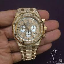 audemars piguet royal oak offshore chronograph rose gold full pavé