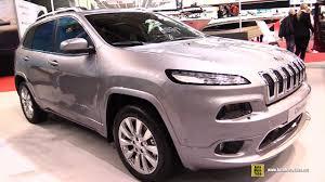 diesel jeep cherokee 2017 jeep cherokee overland diesel exterior and interior