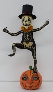 halloween figurines lori mitchell 1012 best paper mache images on pinterest paper clay papier