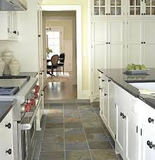 Small Kitchen Remodel Featuring Slate by Kitchen Flooring Ideas Slate Flooring Slate And Kitchens