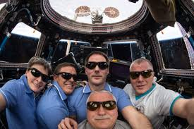 Sojuzs51 by Expedition 51 Crew Members And Soyuz Ms 04 Spacecraft Nasa