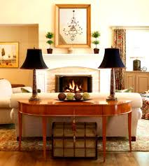 bedroom licious console sofa tables table behind couch front