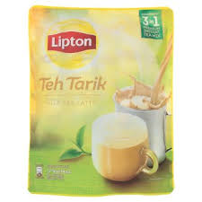 X Teh lipton 3 in 1 teh tarik milk tea latte 12s x 21g tesco groceries