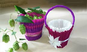 Baskets For Gifts Diy Easter Basket For Sweets Diy Easter Ideas Youtube