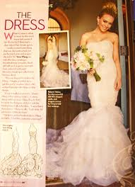 vera wang wedding dresses 2010 hilary duff weds in a fabulous custom vera wang gown after