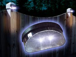 Outdoor Solar Lights For Fence Solar Lights For Garden Fence 2x Fence Post Or Wall Mounting Solar