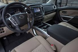 Nicest Truck Interior Review 2017 Nissan Titan Pickup Truck Still Lags Behind The