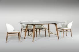 Modern Walnut Dining Chairs Kipling Modern Walnut Dining Set