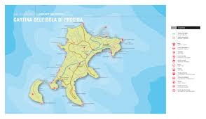Ischia Italy Map by The Island Of Procida