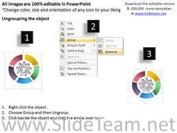 circular gear diagram example of executive summary for business