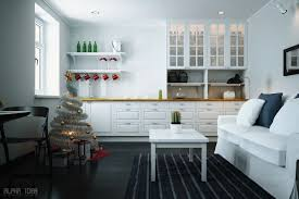 minimalist christmas decor interior design ideas