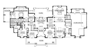 six bedroom floor plans 6 bedroom house plans home deco plans
