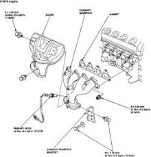 1996 honda accord exhaust how to replace the exhaust manifold on all 1996 2000 honda civic