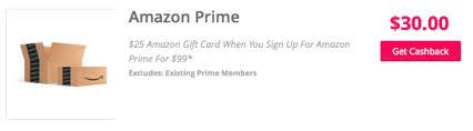amazon cashback black friday topcashback additional 20 cash back plus 25 amazon gift card
