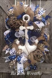 best 25 anchor wreath ideas on nautical wreath