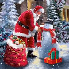 santa u0027s friend christmas card charity cards