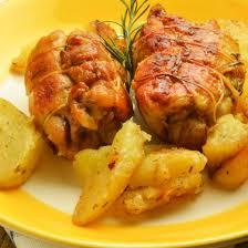 cuisiner du poulet recette escalopes de poulet roulées au bacon et fromage