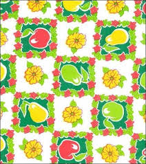 oilcloth by the yard fruit