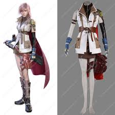 cheap xiii 13 lightning costumes sale at