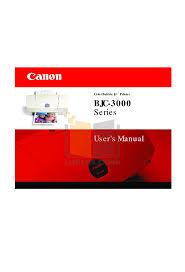canon printer manuals download free pdf for canon bjc 3000 printer manual