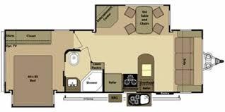 Open Range 5th Wheel Floor Plans 2012 Open Range Roamer 247fls Double Slide Front Living Room