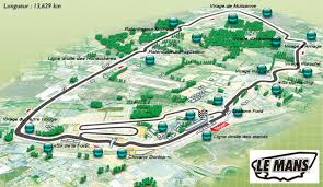 map of le mans le mans 24 hours cars and motorbikes race by royal appointment