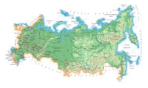 physical map of russia russia physical map vidiani com maps