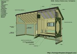 home garden plans m200 perfect options backyard chicken coop