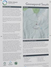 New York Thruway Map by Gone Hikin U0027 Goosepond South And Goosepond Mountain State Park Ny