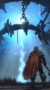 fantasy of lights 5k wallpaper lords of the fallen game fantasy warrior hall light