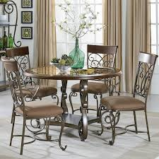 standard furniture dining room sets standard furniture bombay round table and chair set with metal