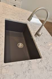 Kohler Oil Rubbed Bronze Kitchen Faucet by Blanco Silgranite Kitchen Sink In Cidner With Kohler Simplice