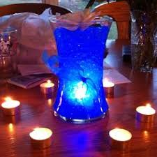 Water Bead Centerpieces by This In Blue With Flowers In How I Want My Centerpieces Sweet